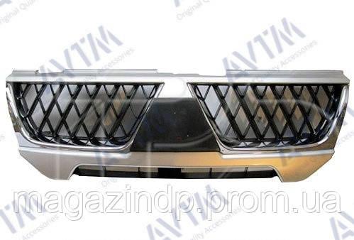 Решетка радиатора Mitsubishi Paje Sport 2004-2008 хром./черн. Код товара: 3799821