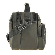 Чоловіча сумка Wallaby 24х17х15 горизонтальна колір хакі, тканина «Кордура» в21231х, фото 3