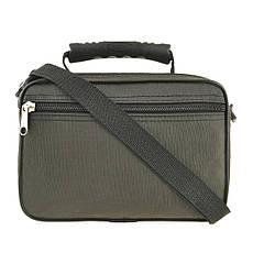 Чоловіча сумка Wallaby 24х17х15 горизонтальна колір хакі, тканина «Кордура» в21231х, фото 2