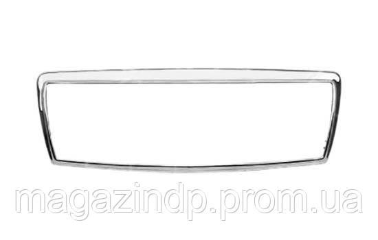 Рамка решетки радиатора Mercedes E-Class (W210) 1999-2002 рамка хром. Classic/Elegance (метал.) 183527992 Код товара: 3799829