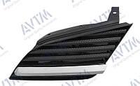 Решетка радиатора Nissan Primera (P12) 2002- лев. Код товара: 3799843