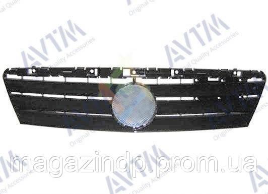 Решетка радиатора Mercedes A-Class (W168) 1997-2000 черн. Код товара: 3799875