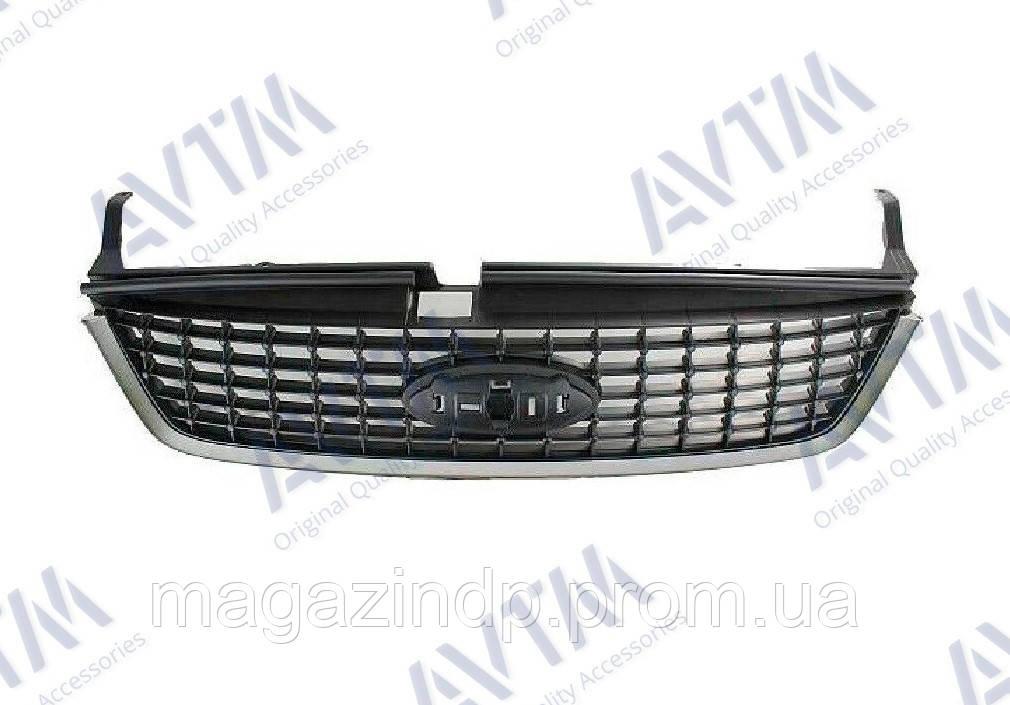Решетка радиатора Ford Mondeo IV 2007-2010 хром/черн. Код товара: 3799877