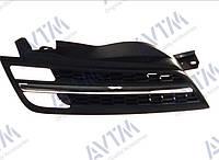Решетка радиатора Nissan Micra K12 2005-2008 черн./хром.прав. Код товара: 3799890