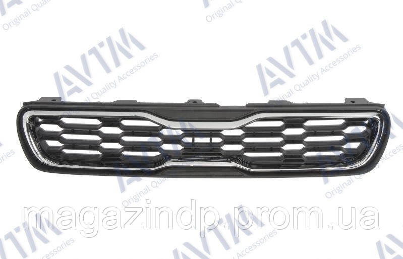 Решетка радиатора Kia Soul 2012-2014 с хром. молдингом 86350-2K500 Код товара: 3799902