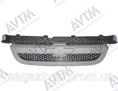 Решетка радиатора Chevlet Aveo Sd (T250) 2006-2012 грунтов. под покрас 181708990 96648621 Код товара: 3799905