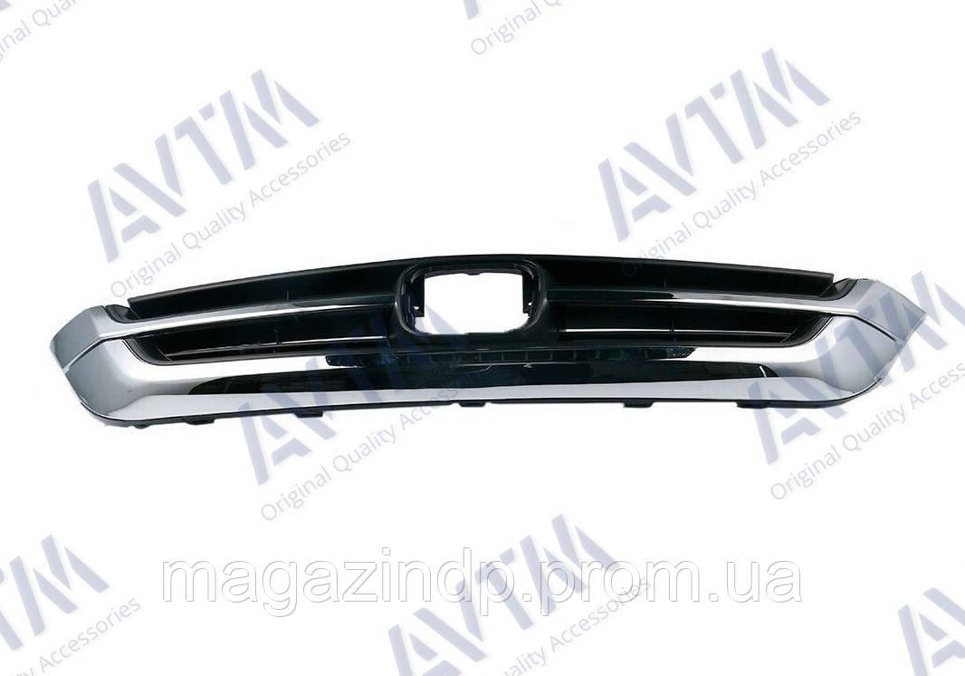 Решетка радиатора nda CR-V 2010-2012 хром+внутр часть 183022994 71121SWNH11 Код товара: 3799908