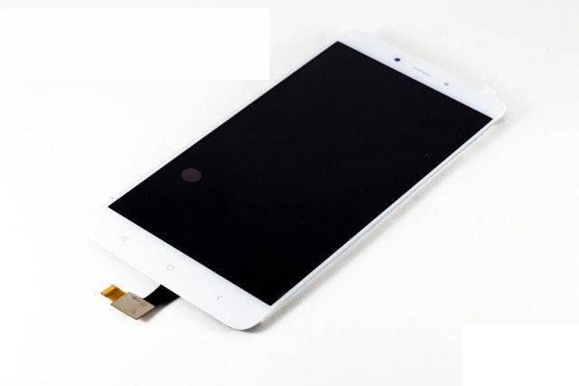 Дисплей (LCD) Xiaomi Redmi Note 4 с сенсором белый, фото 2