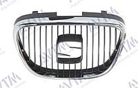 Решетка радиатора Se Aea 2004-2013/n/Toledo 2005-2009 хром./черн. Код товара: 3799995