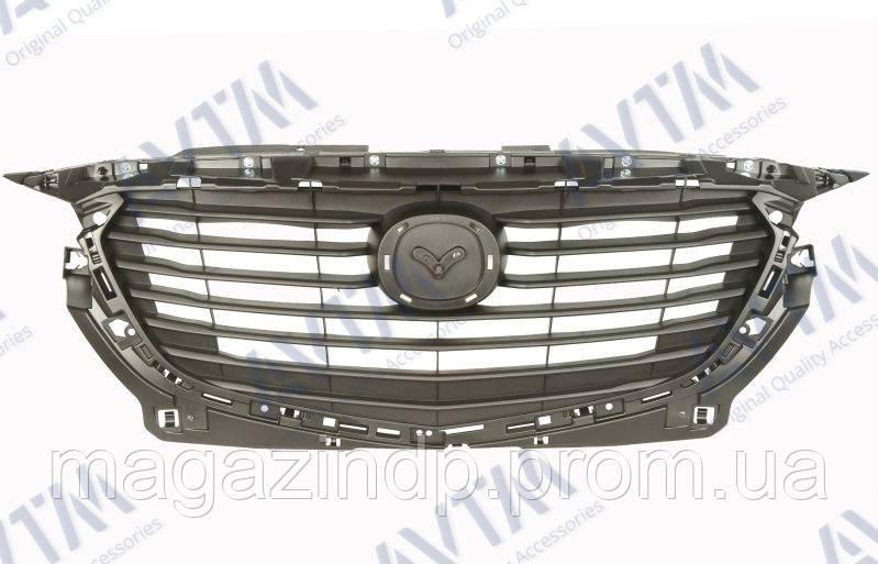 Решетка радиатора Mazda CX-3 2015- без молдингов Код товара: 3800045