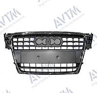 Решетка радиатора  A4 2008-2012 хром/черн. 181208990 Код товара: 3800049