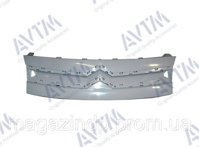 Решетка радиатора Citen Berlingo 2008-2012 внешняя верхняя без хром. накладки 7804S9 Код товара: 3800068