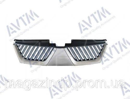 Решетка радиатора Mitsubishi Outlander XL 2007-2010 грунт. EUR/Japan type 184812991 Код товара: 3800087