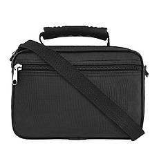 Чоловіча сумка Wallaby 24х17х15 горизонтальна тканина «Кордура», колір чорний в21231ч, фото 3