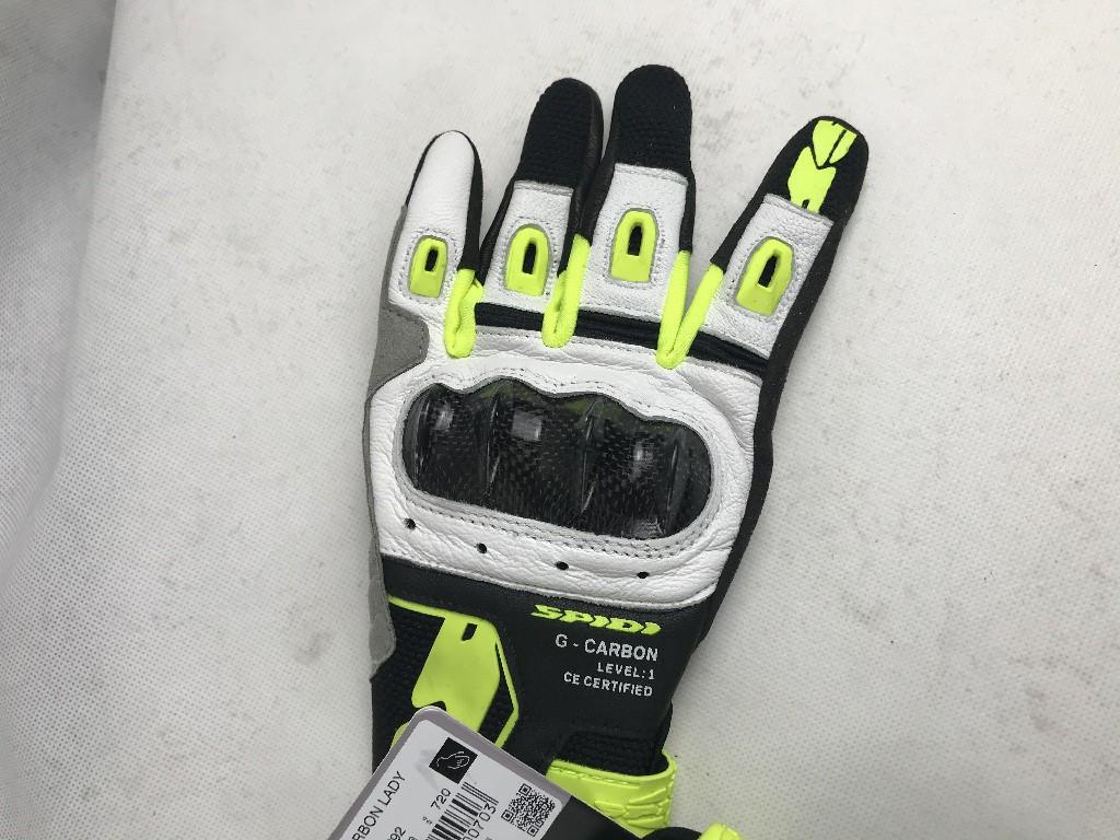 Мотоперчатки Кожаные Spidi G-Carbon Lady C92