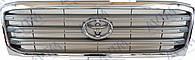 Решетка радиатора Toyota Land r 100 1998-2008 хром./серый Код товара: 3800123