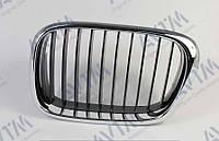 Решетка радиатора BMW 5 (e39) 2000-2003 правая хром,ребра черн. 1800659904 Код товара: 3800201