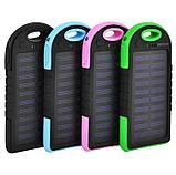 Солнечное портативное зарядное Power Bank Samsung, 8000 mah, фото 2