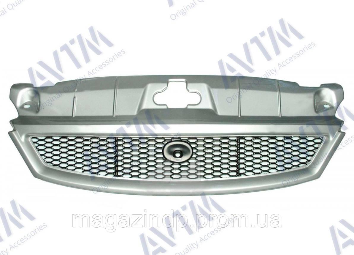Решетка радиатора Ford Mondeo III 2001-2003 черн. с рамкой грунт 182555990 Код товара: 3800245