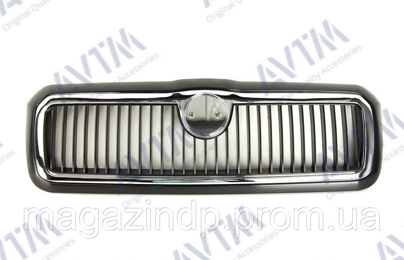 Решетка радиатора  Octavia Tour 1997-2000 с хром рамкой Код товара: 3800263