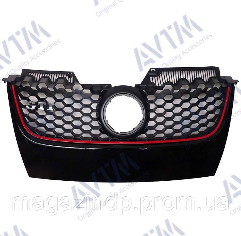Решетка радиатора Volkswagen Golf V Hb 2003-2008 (I) Код товара: 3800269