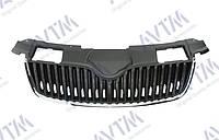 Решетка радиатора  Fabia/omster 2007-2010 нижн.рант-черн. ребра-черн 5J0853668 Код товара: 3800655