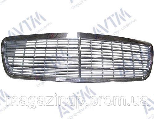 Решетка радиатора Mercedes E-Class (W210) 1999-2002 Classic/Elegance Код товара: 3800656