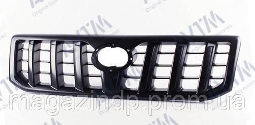 Решетка радиатора Toyota Prado (j120) 2003-2009 черная Код товара: 3811672