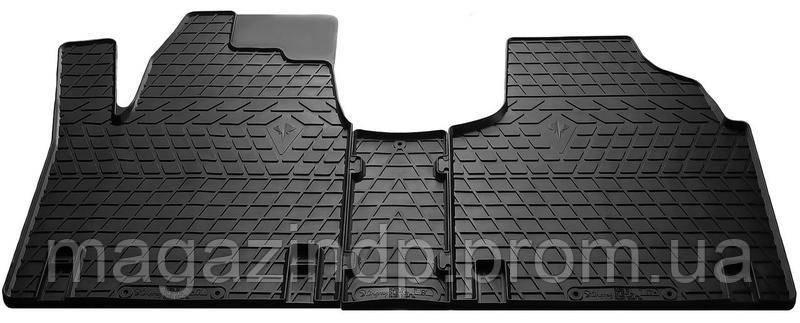 Коврики в салон для Peugeot  /Citen Jumpy /Fi Scudo 95-07 (комплект - 3 шт) 1003093 Код товара: 3814094