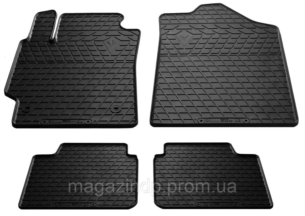 Коврики в салон для Toyota Camry V40 06- (design 2016) (комплект - 4 шт) 1022244 Код товара: 3814255