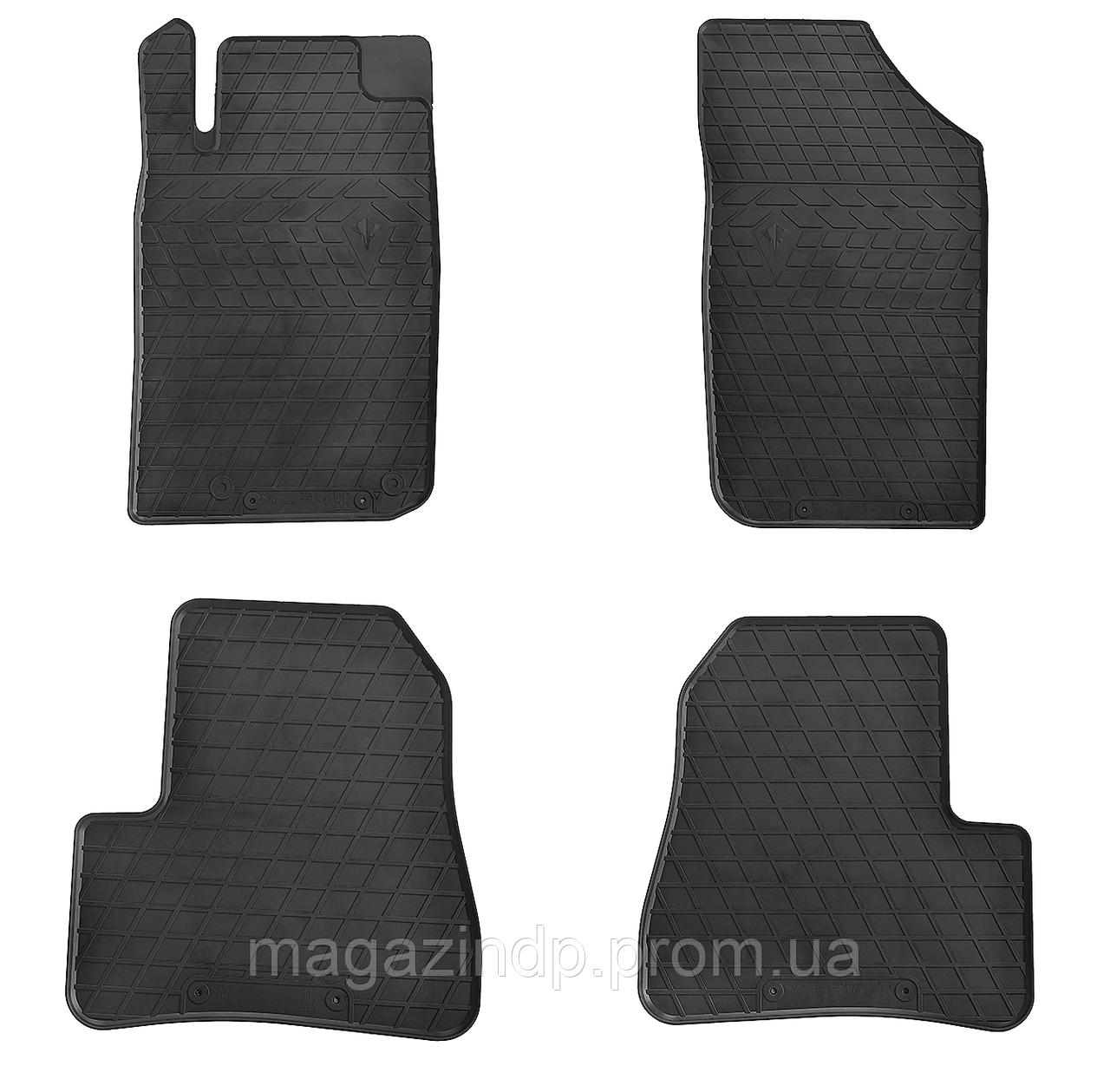 Коврики в салон для Peugeot 206 98- (design 2016) - (комплект - 4 шт). 1016044 Код товара: 3814279