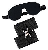 Бондаж Bad Kitty Augenmaske/ Fessel