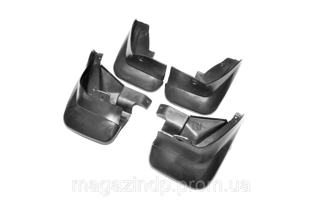 Брызговики полный комплект для  Forester 2002-2008 (J1010-SA010;J1010-SA013), кт 4шт MF.SUFO2002 Код товара: 3816377