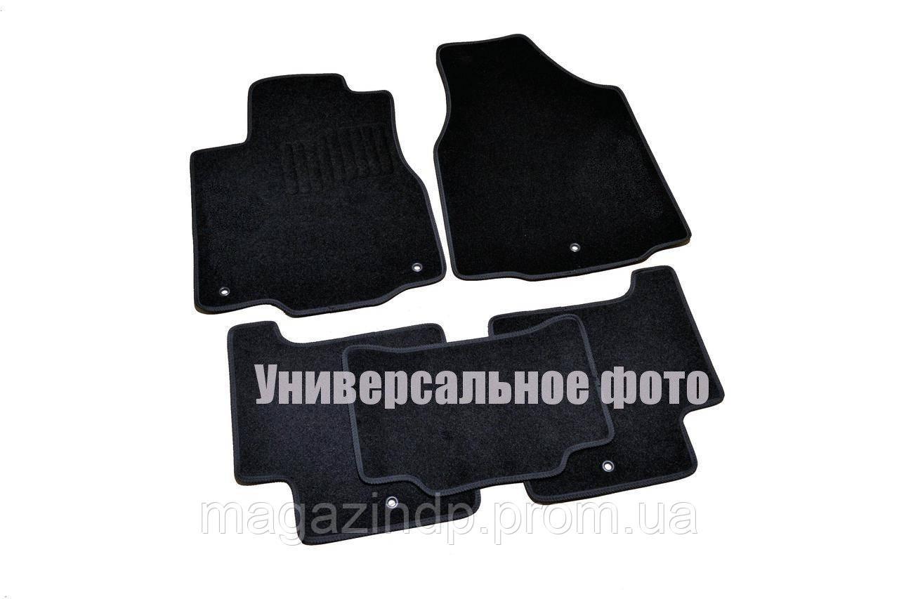 Коврики в салон для Mitsubishi Outlander XL (2006-2012) /Чёрные ворс, кт. 5шт Premium BLCCR1396123 Код товара: 3816843