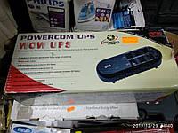 Источник бесперебойного питания Powercom ups WOW-500, состояние нового, рабочий, без акб