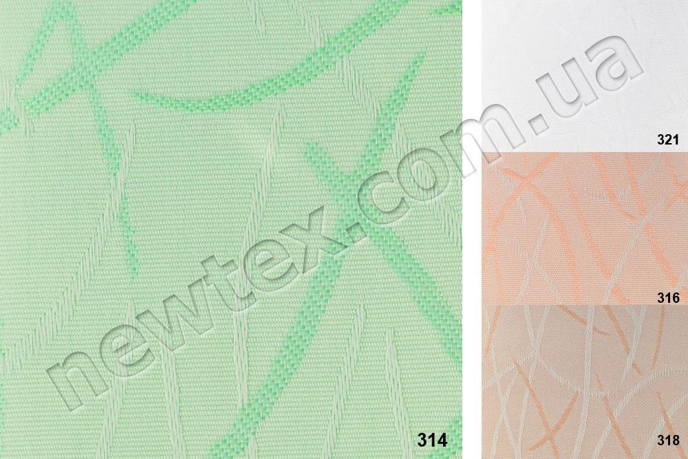 Жалюзи вертикальные 89 мм Jazz Extra (4 цвета)
