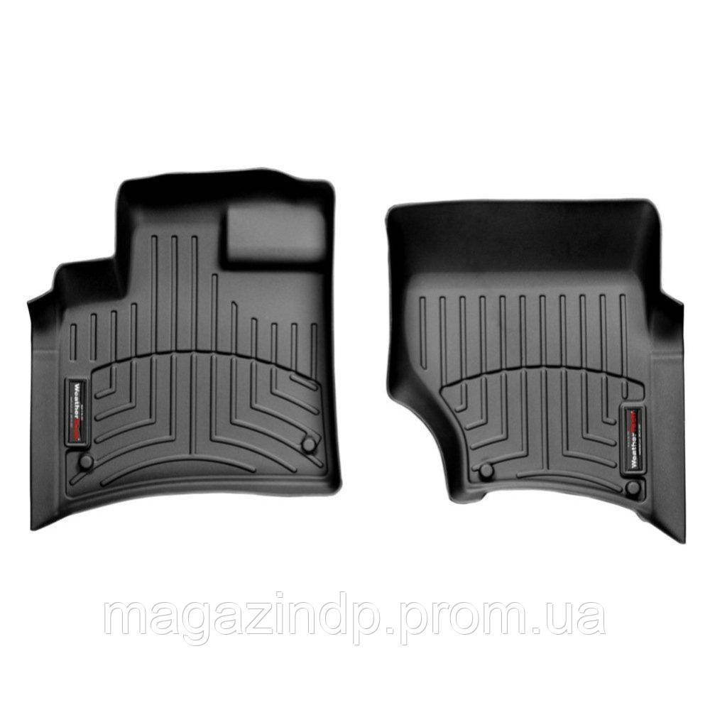Коврики в салон для  Q7 2005- с бортиком черные передние 441511 Код товара: 3818620