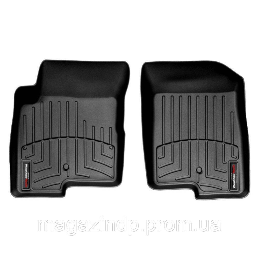 Коврики в салон для Jeep  2008- с бортиком передние черные 440861 Код товара: 3818624