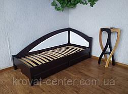 """Кровать односпальная с мягкой спинкой и выдвижными ящиками """"Радуга Премиум"""", фото 2"""