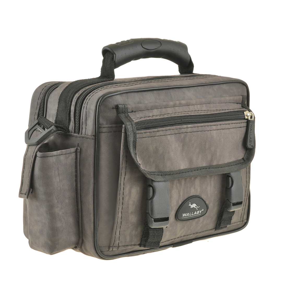 Мужская сумка Wallaby 25х18х13 ткань «Кордура» горизонтальная цвет хаки,  в2427х