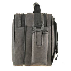 Мужская сумка Wallaby 25х18х13 ткань «Кордура» горизонтальная цвет хаки,  в2427х, фото 3