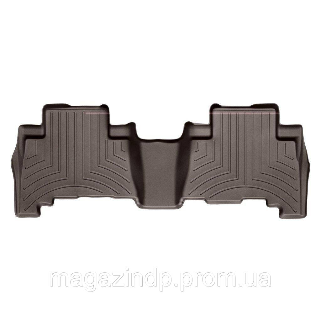 Коврики в салон для Toyota Land r Prado 150 2009- с бортиком какао задние 472862 Код товара: 3818640