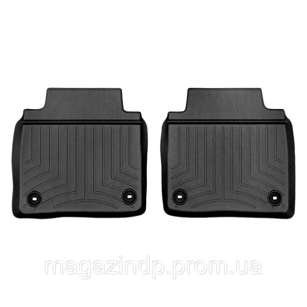 Коврики в салон для Lexus LS 460 2012- с бортиком черные, задние LONG 445143 Код товара: 3818643