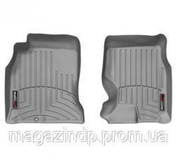 Коврики в салон для Toyota Hi 2011-14 с бортиком серые, передние 465121 Код товара: 3818647