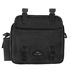 Мужская сумка Wallaby горизонтальная ткань «Кордура» 25х18х13 цвет чёрный,  в2427ч, фото 2