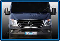 Mercedes Sprinter FL (2013-) Окантовка на решетку радиатора 2шт Код товара: 3818935, фото 1