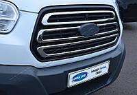 Ford Transit (2014-) Накладки на решетку радиатора 3шт Код товара: 3818968, фото 1