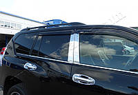 Toyota Land r Prado 150/GX460 (2009-) Молдинги стекол нижние 6шт Код товара: 3818970, фото 1