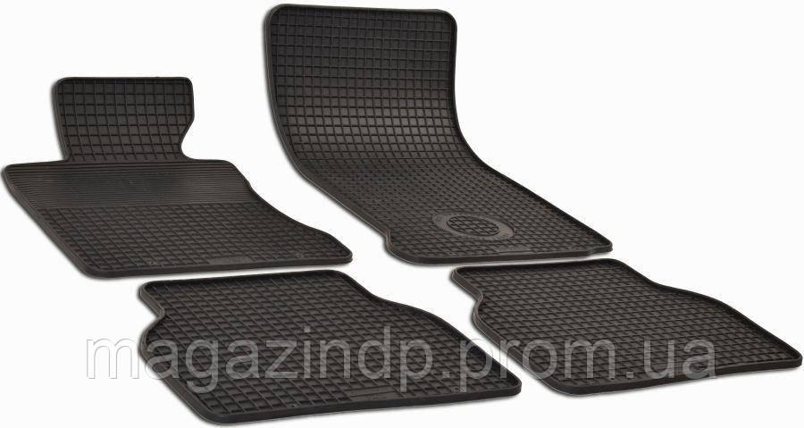 Коврики в салон для BMW 5 (E60) 2003-2010 черный 4шт GZ 156030459 Код товара: 3819407