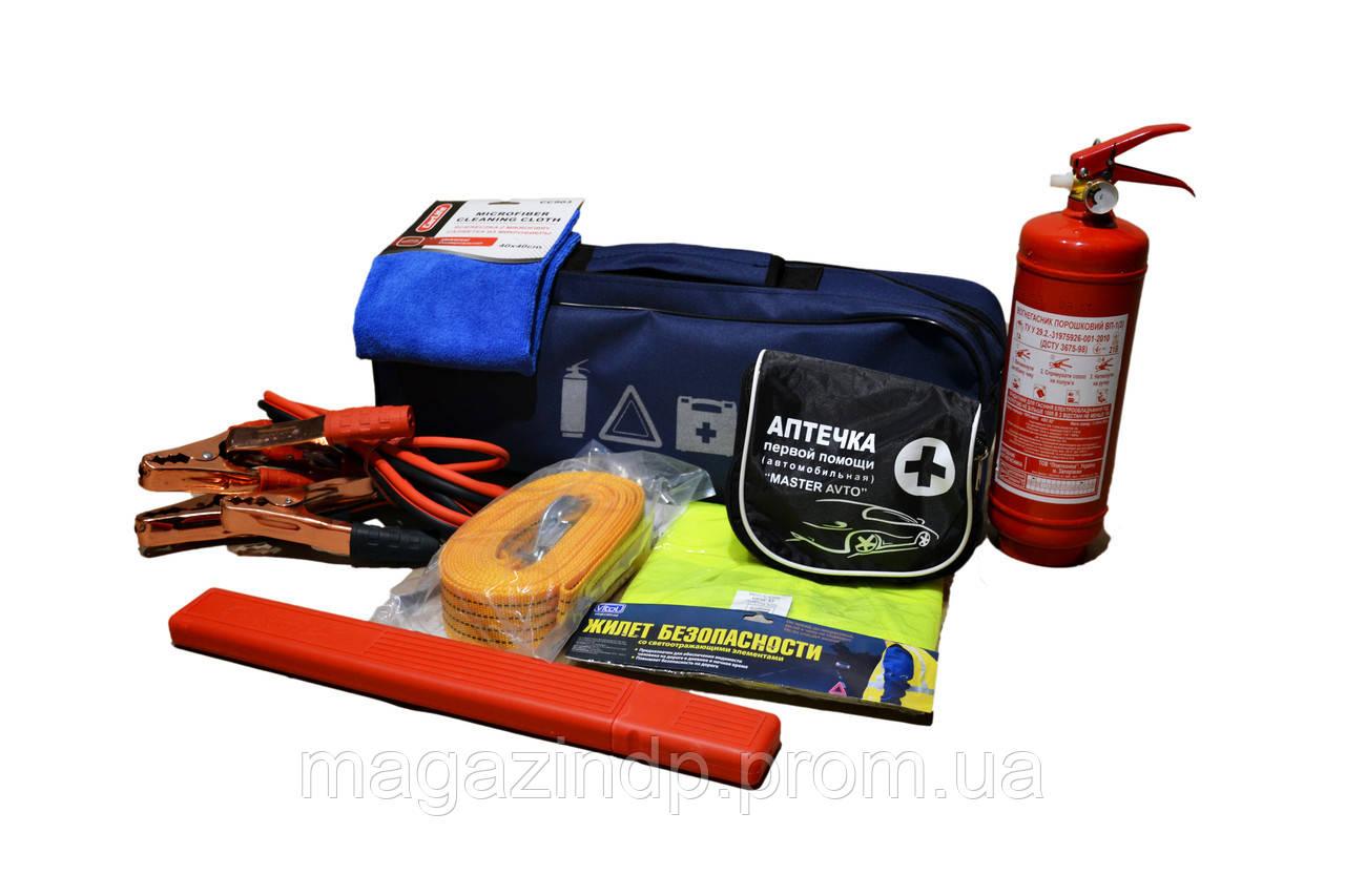 Автомобильный набор техпомощи   (синий) Код товара: 3822610